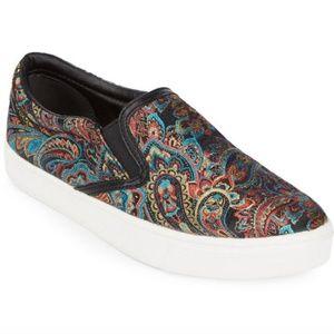 Sam Edelman 'Marvin' Paisley Slip-on Sneaker 9